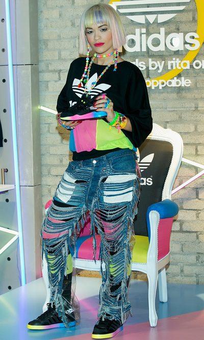 Rita Ora y su obsesión por el flúor y los rotos