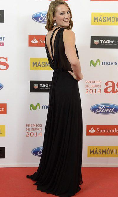 La elegancia de Mireia Belmonte