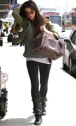 Kate Beckinsale, comodidad viajera