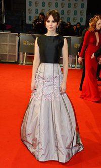 Una sirena en la alfombra roja de los BAFTA 2015