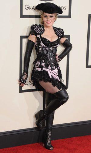 Madonna, la torera erótica de los Grammy