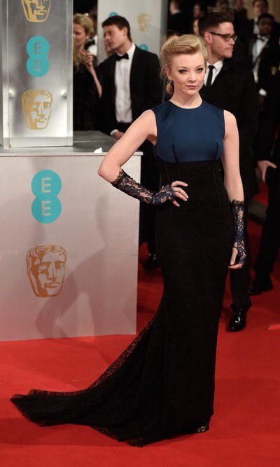Natalie Dormer pone el toque gótico a los BAFTA