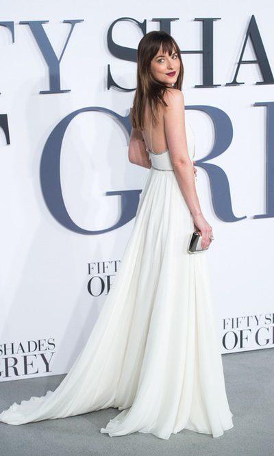Anastasia Steele se viste de novia