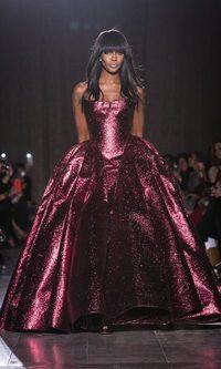 Naomi Campbell, la Princesa de Zac Posen