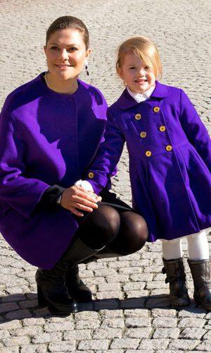 Victoria y Estela de Suecia lo apuestan todo al morado