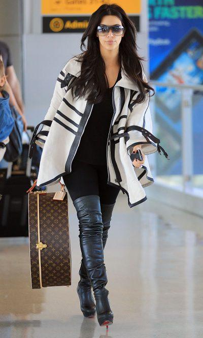 Kim Kardashian, diva viajera