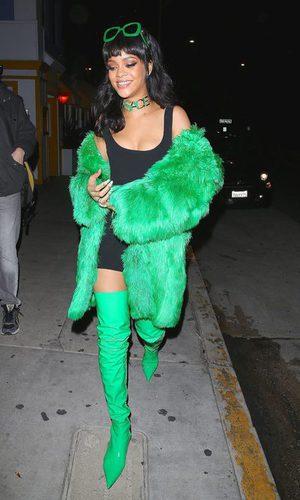 Rihanna se viste de peluche