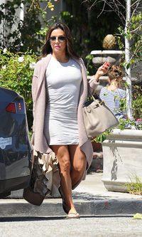 Eva Longoria, glamour de andar por casa