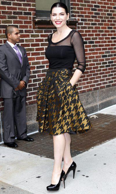 Julianna Margulies, Carolina Herrera para Letterman