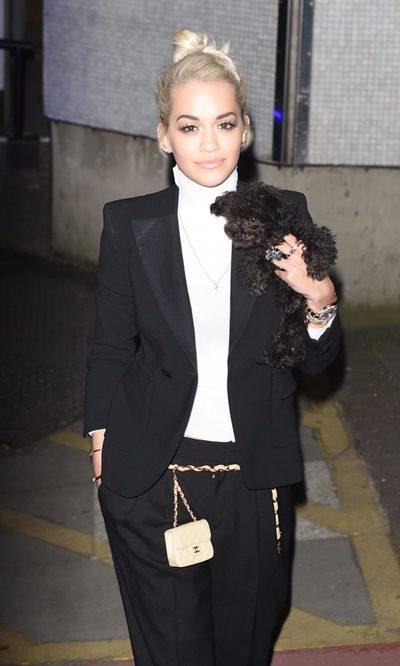 El complemento más especial de Rita Ora...
