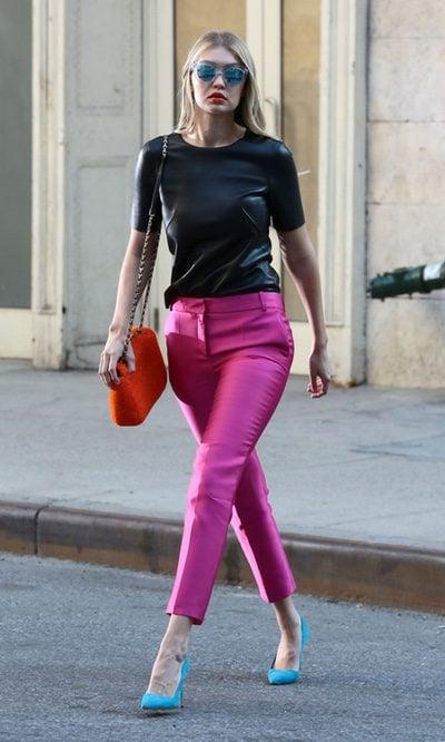 Gigi Hadid, a todo color