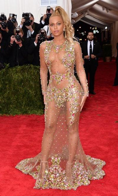 Beyoncé se pasa con las transparencias