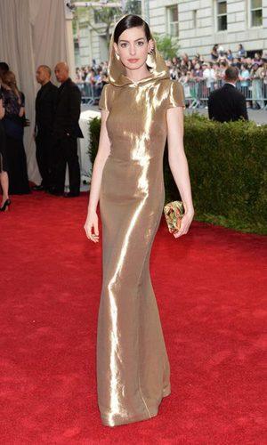 Anne Hathaway, la Jedi-burbujita de Ralph Lauren