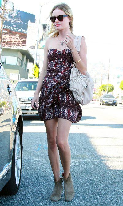 Kate Bosworth, botines de verano