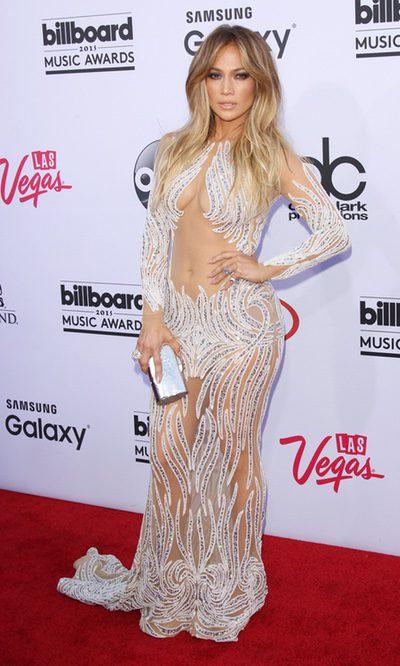 Jennifer Lopez, transparencias máximas