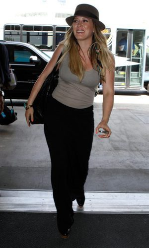 Hilary Duff, premamá viajera