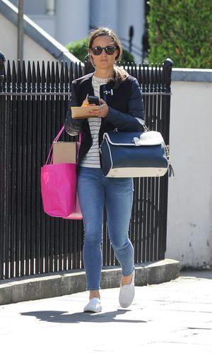 Pippa Middleton, una working girl muy cómoda