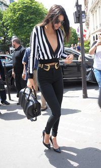Kendall Jenner y su escotazo XXL