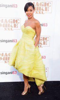 Jada Pinkett Smith, la princesa amarilla