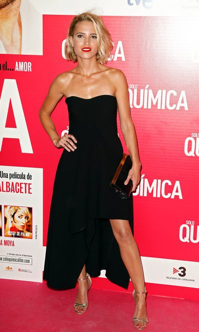 Ana Fernández, la elegante chica de negro