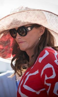 El pamelón antisol de Caitlyn Jenner