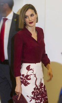La Reina Letizia apuesta por el Marsala