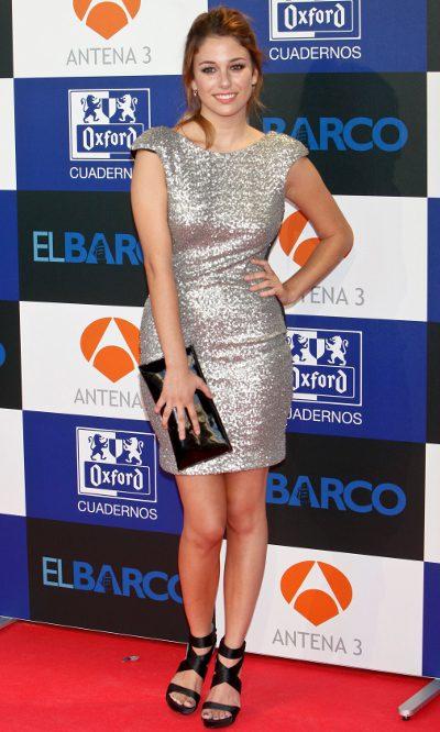 Blanca Suarez, lentejuelas metalizadas