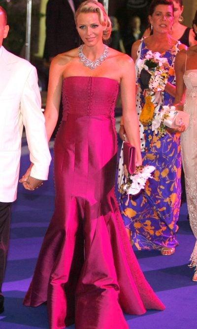 Charlene de Mónaco en el Baile de la Cruz Roja