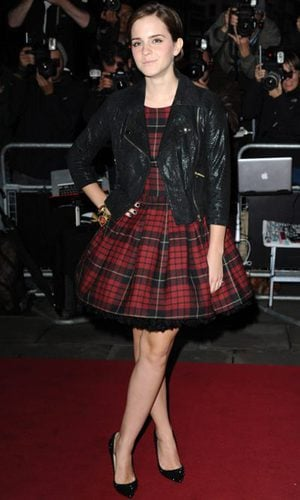 Emma Watson, a cuadros con McQueen