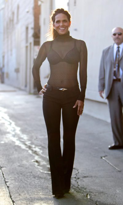 Halle Berry a lo Catwoman