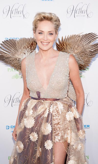Sharon Stone, la nueva angelita de Victoria's Secret