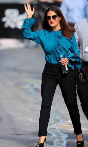 Salma Hayek, una actriz elegante
