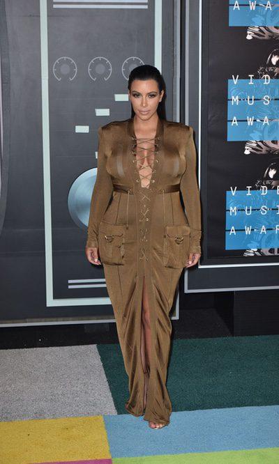 Kim Kardashian, la reina de las embutidas