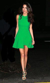 Amal Alamuddin, verde que te quiero verde