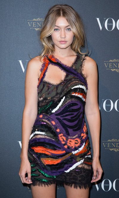 Gigi Hadid, un estilo asimétrico