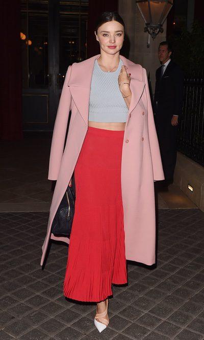 Miranda Kerr se pasa al maxi