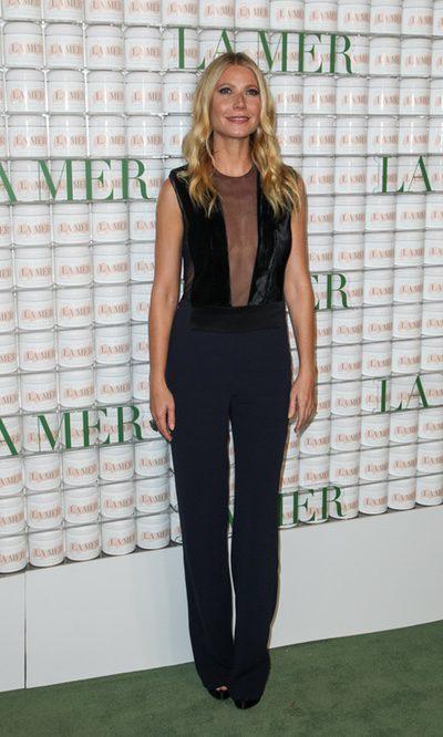 Gwyneth Paltrow, elegante con transparencias