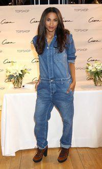 Ciara, al más puro estilo cowboy
