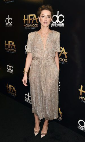 Amber Heard brilla gracias a Temperley
