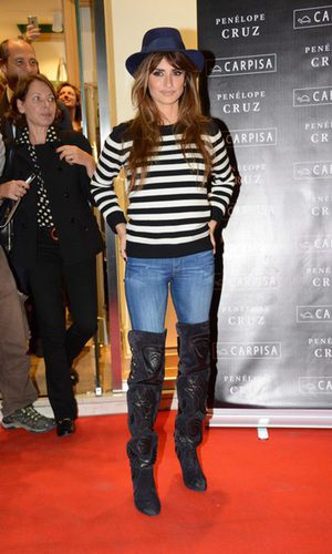 Penélope Cruz, la gata con botas