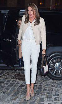 Caitlyn Jenner, look total white