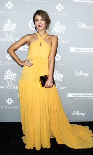 Jessica Alba, un estilismo llamativo