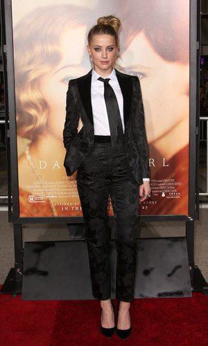 Amber Heard apuesta por una imagen masculina