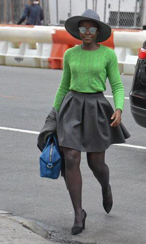 Lupita Noyong'o, sencilla y elegante