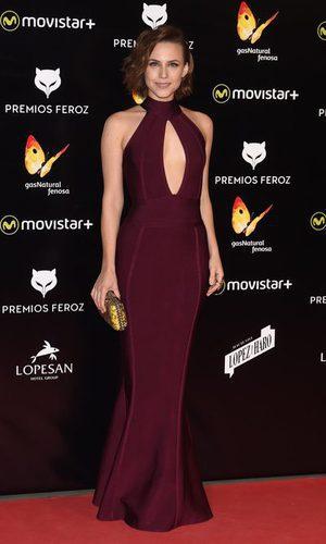 Aura Garrido deslumbra en los Premios Feroz