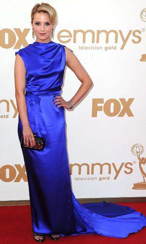 Dianna Agron de Roksanda Ilincic en los Emmy 2011