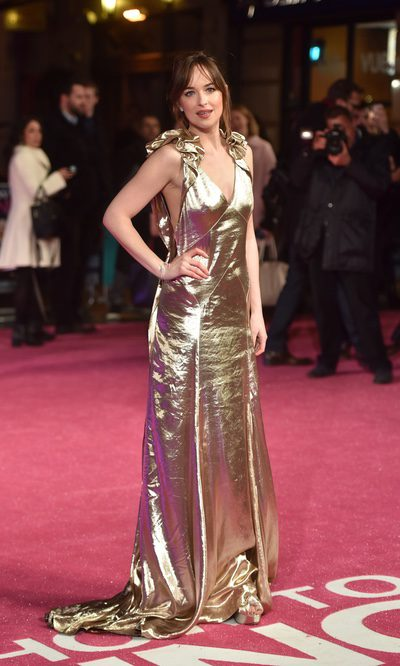 Dakota Johnson, seductora con su Marc Jacobs