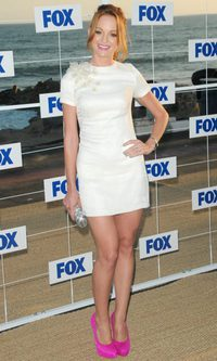 Jayma Mays y su little white dress