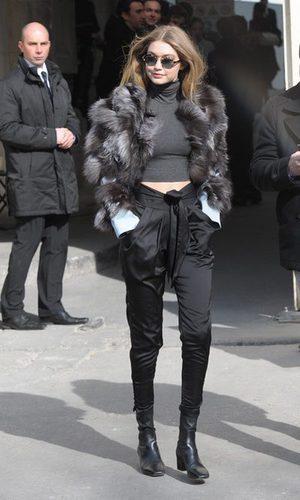 Gigi Hadid, abrigo de entretiempo