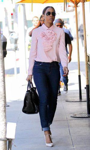 Kelly Rowland, una estilosa working girl
